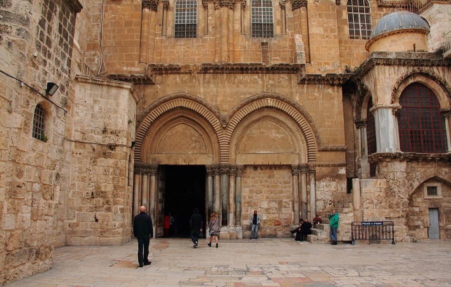 10 IMG_6846 Вход в Храм гроба господня