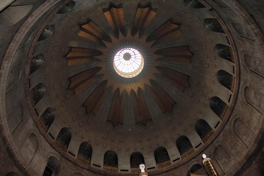 12 IMG_6853 Купол Храма гроба господня.