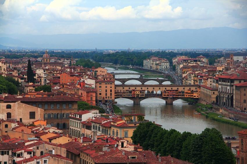 Мосты Флоренции Мосты Флоренции 1810604 900