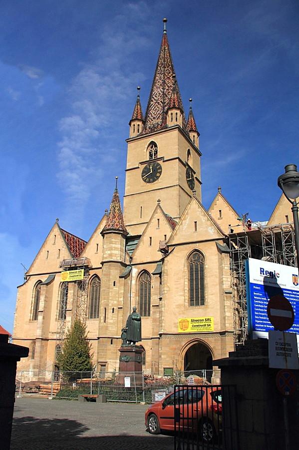 25 Лютеранский собор в Сибиу