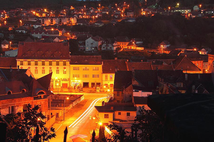 44Нижний город ночью