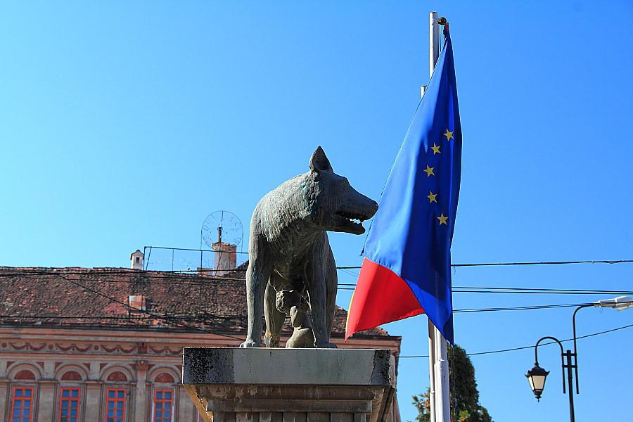 12 Волчица - символ Румынии