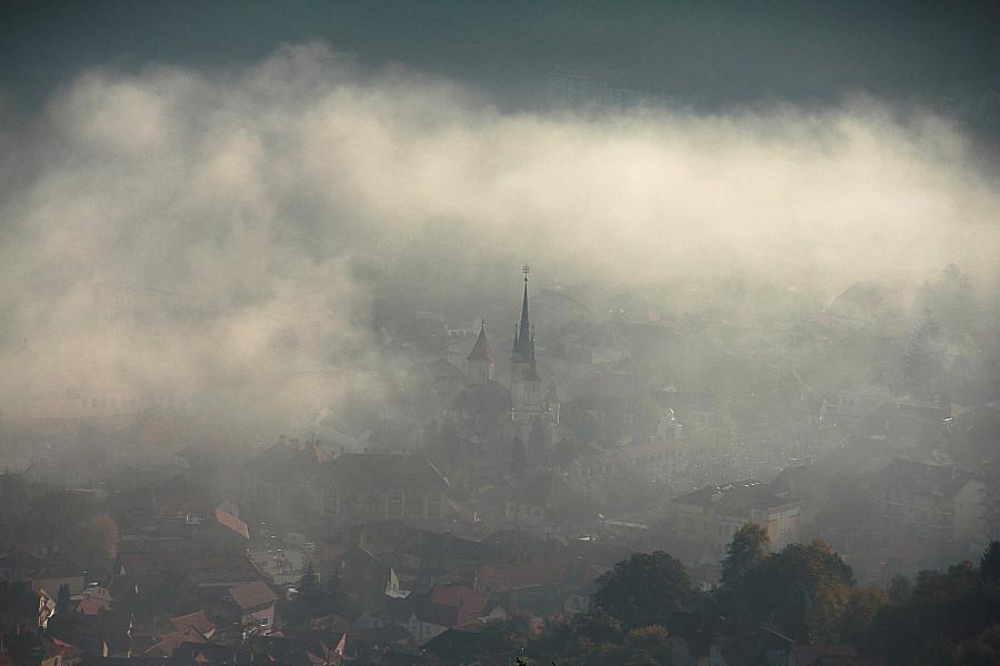 1 a    утрянняя сказка Собор св. Николая в Брашове