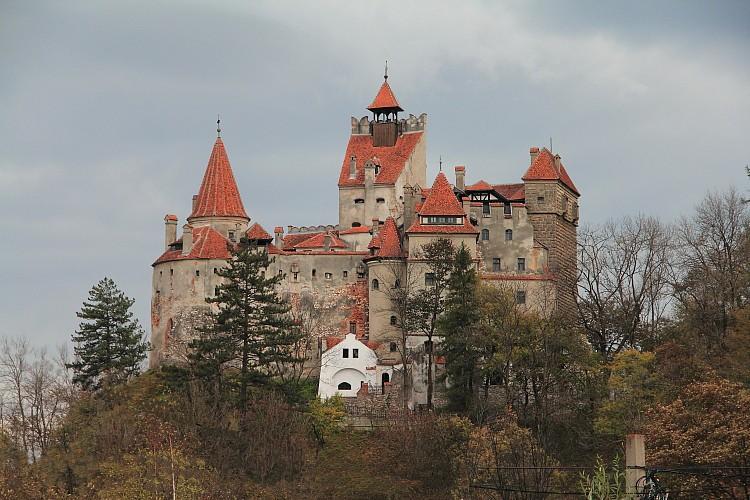 23 замок Бран во всей красе