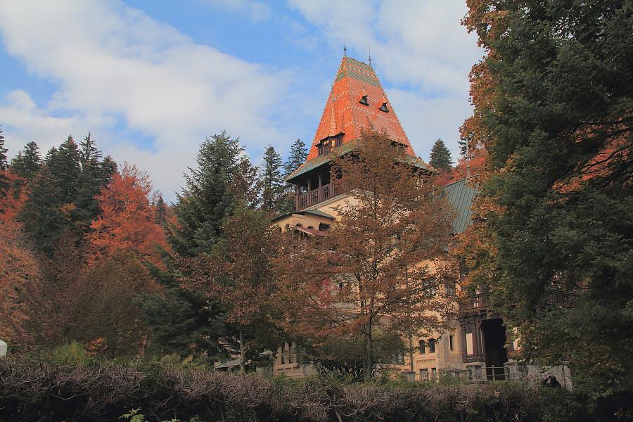 29 DPP_96821089 замок Пелишор построен  в 1899—1903 годах