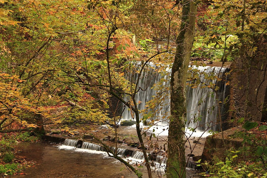 5 Речка с водопадом украшает дорогу. DPP_96821065