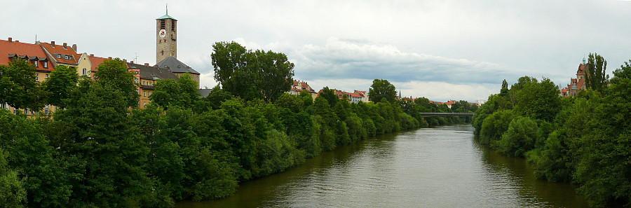 36  Бамберг, река Регниц.
