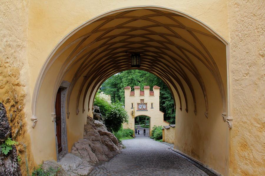 8 Вход в Замок Хоэншвангау
