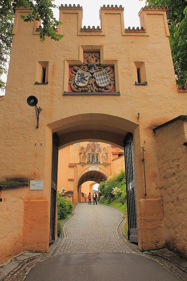 10 Вход в Замок Хоэншвангау