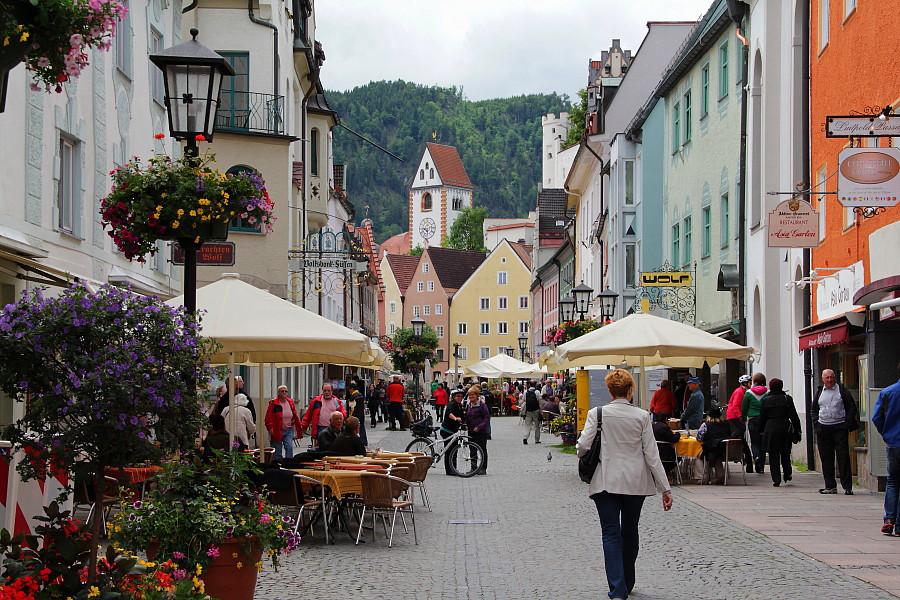 20  улица Reichenstrasse —  пешеходная  улочка