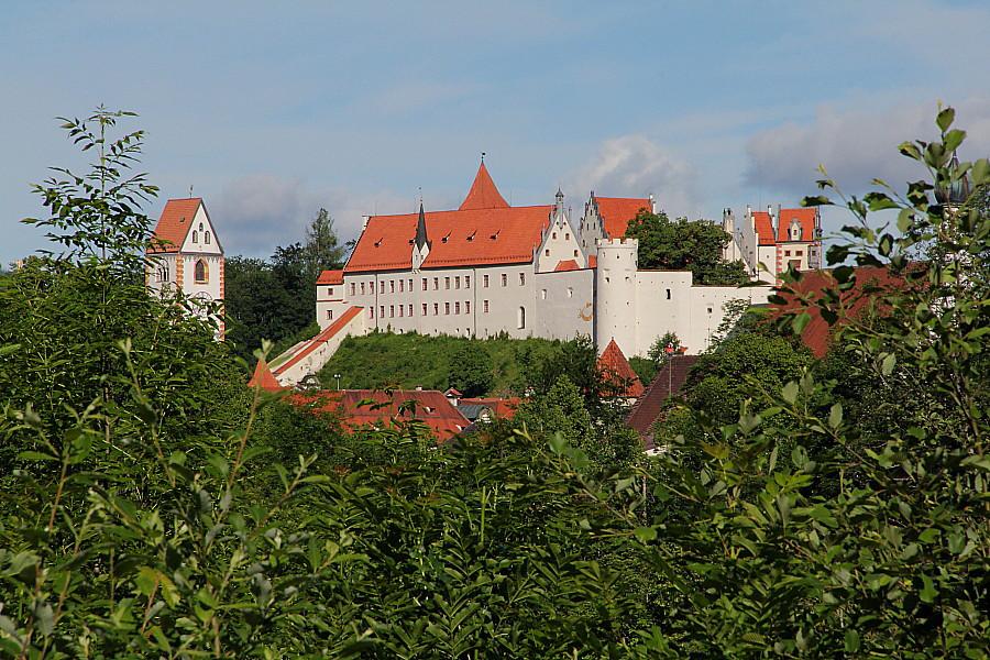 31 Замок епископов на вершине холма Шлоссберг