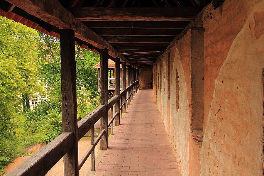3 Боевой проход по стенам крепости