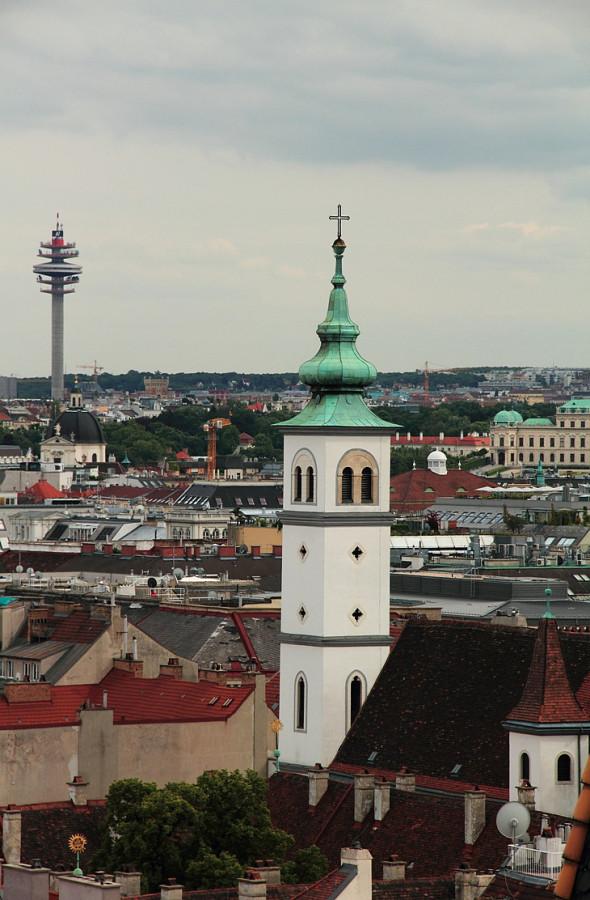 11 Вид на Дунайскую  башню