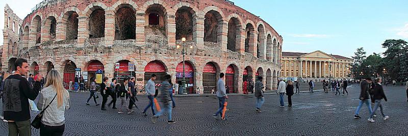 DPP_033 Веронский амфитеатр(Arena di Verona и Дворец Барбьери