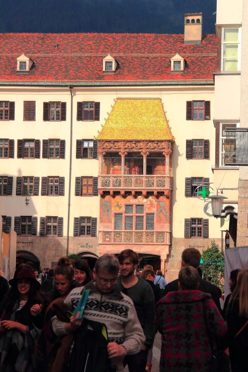 DPP_012 Дом с золотой крышей. Музей, императора Максимилиану I