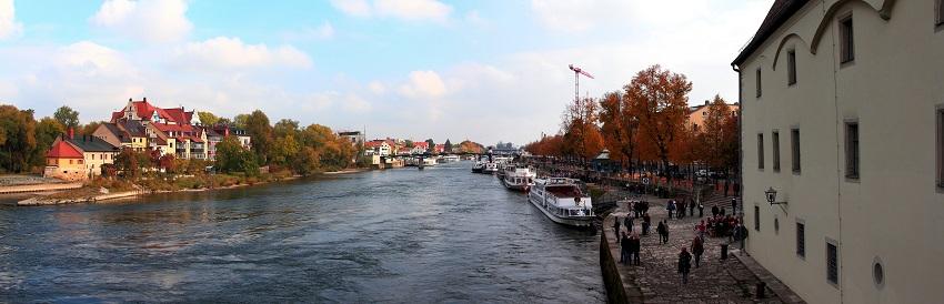 New panorama 3 Пристань на Дунае
