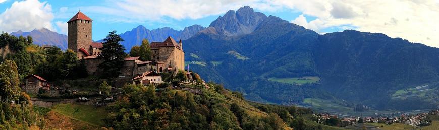 1 Замок Тироль  New panorama