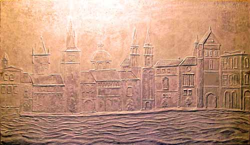 town_Bas_relief
