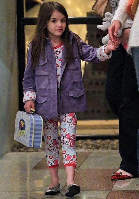 Дочь Тома Круза
