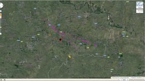 Траектория MH17-4
