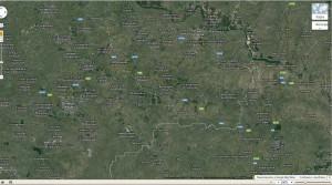 Траектория MH17-2