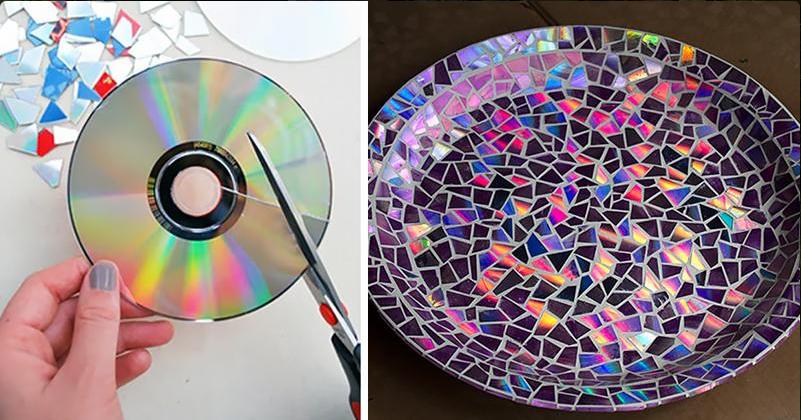 Из ненужных дисков своими руками