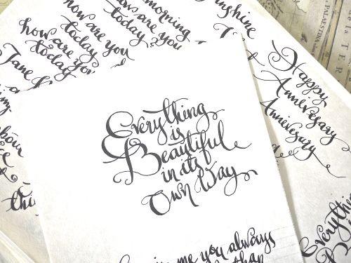 Learning modern calligraphy aida haron