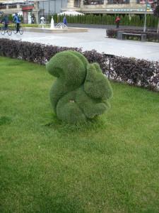 скульптура белка