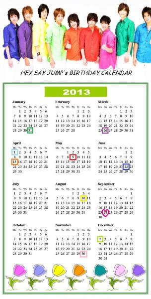 calendar '13