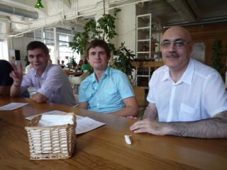Я в Зеленой комнате в Этажах на Лиговском, 74. 28 июля 2010