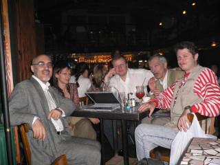 Первое заседание свободного кабинета -- 4 августа 2006г., кафе Билингва