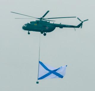 Ветролёт на параде 9 мая 2012г., Москва