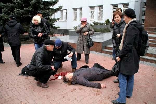 Убитая в Хмельницком