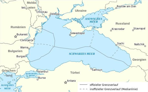 Черное море до аннексии