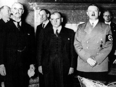 Чемберлен и Даладье прибыли в Мюнхен
