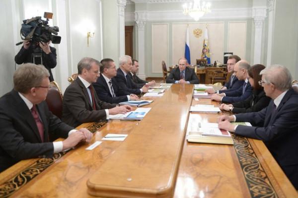 Эк. совещание у Путина