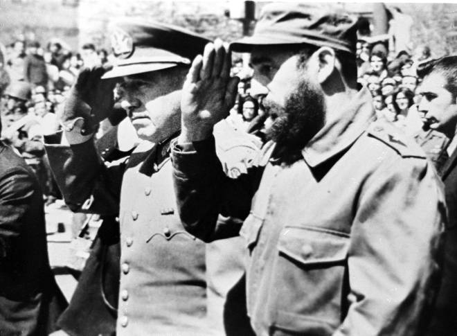 Pinochet&Castro