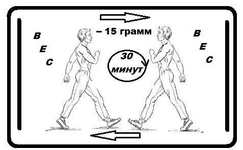 15 грамм жира