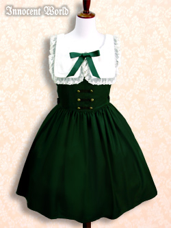 IW green dress