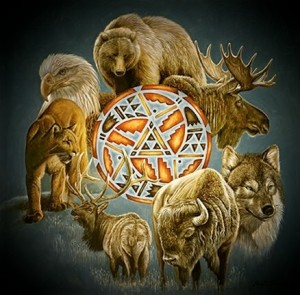 Древние тотемные животные