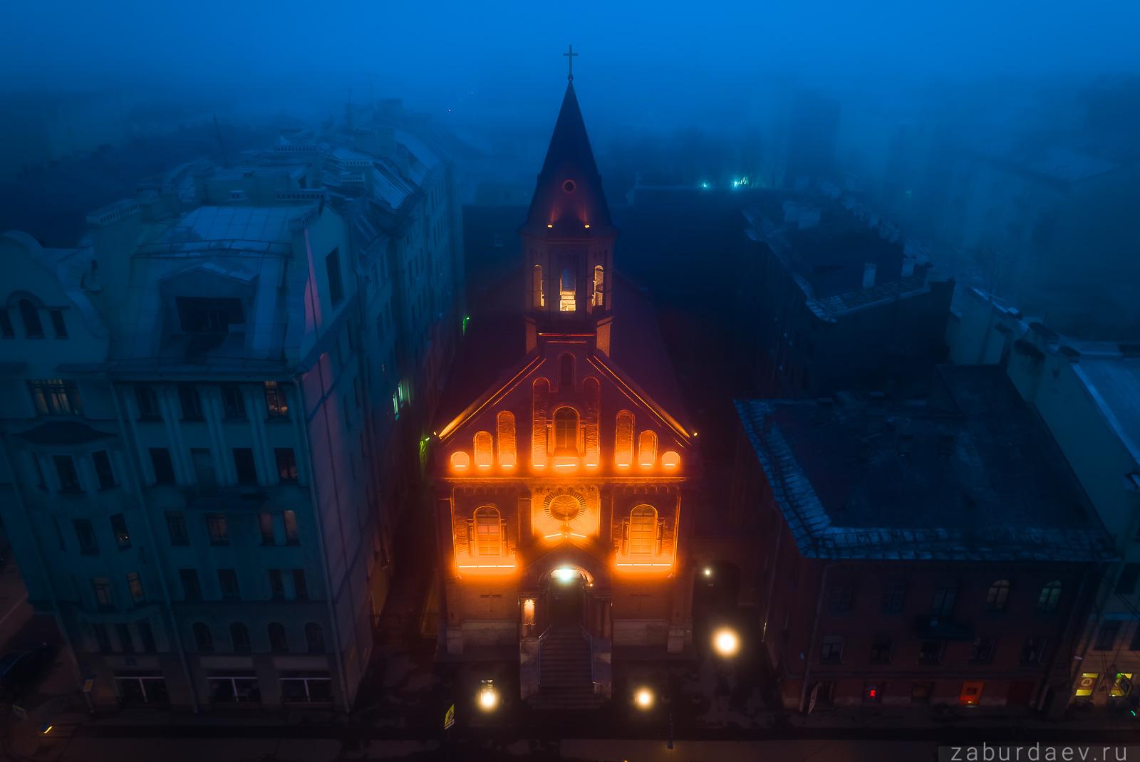 Эстонская лютеранская церковь св. Иоанна в Санкт-Петербурге