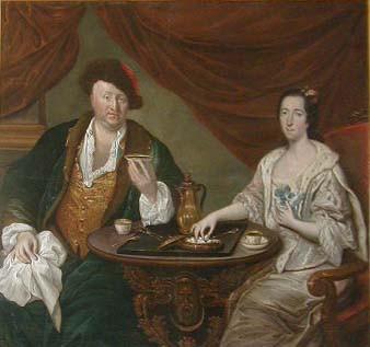 Гроот-Левендаль с женой