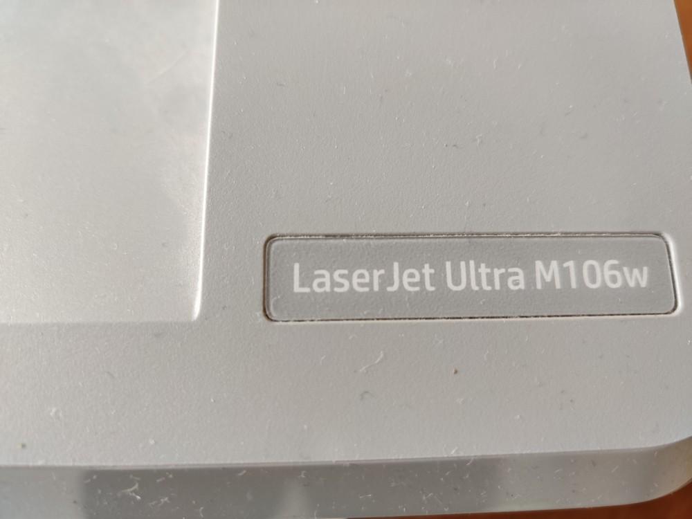Лазерный принтер HP LaserJet Ultra m106w, нерабочий, Печатники