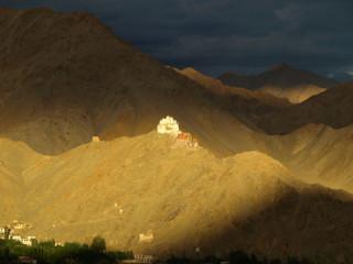 View of Tsemo Monastery in Leh