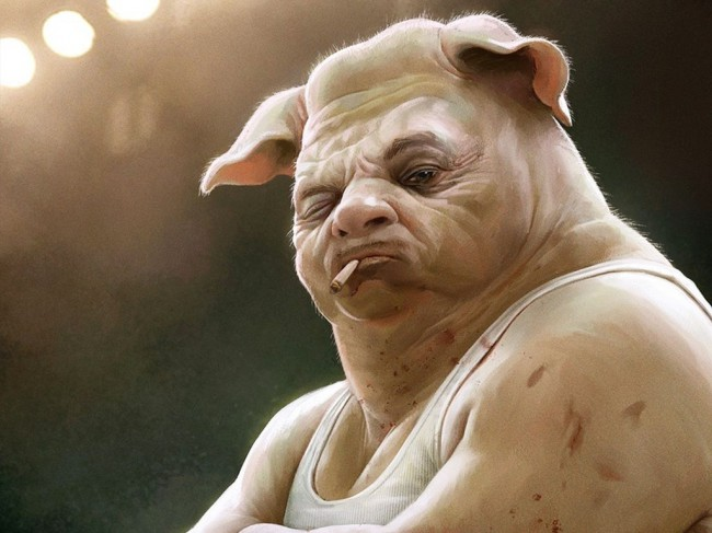 свиньи доигрались...