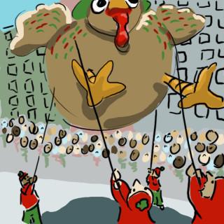 macy's day parade turkey balloon