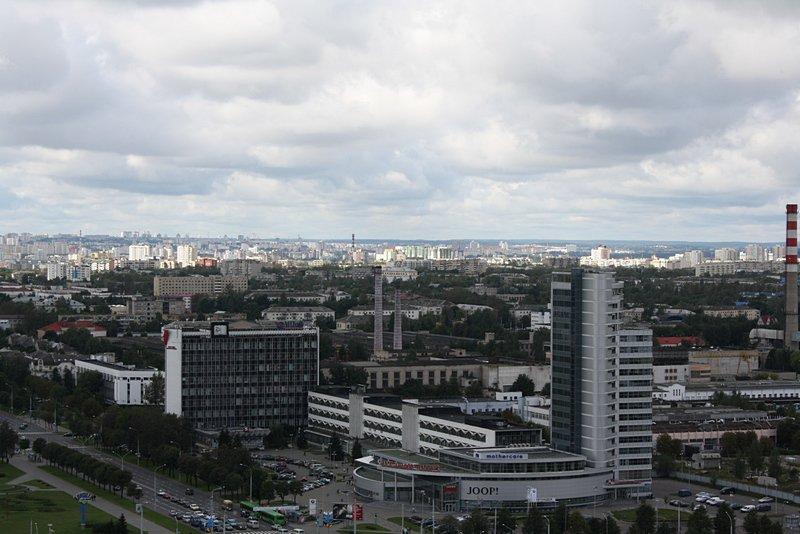Минск 10 лет назад