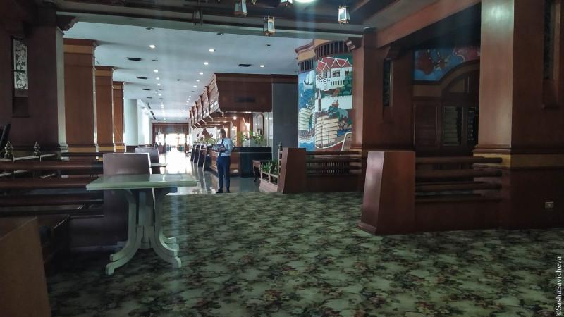 Отель Welcome Jomtien в Паттайе. Первый этаж. Фото: Саша Савичева