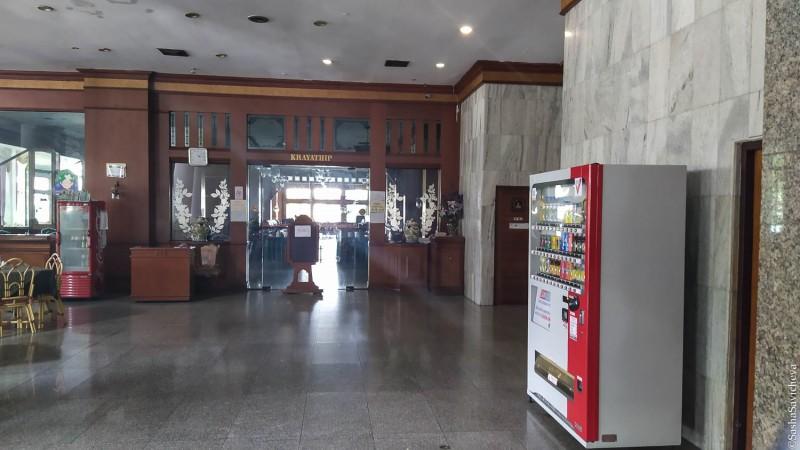 Отель Welcome Jomtien в Паттайе. Вид на ресторан. Фото: Саша Савичева