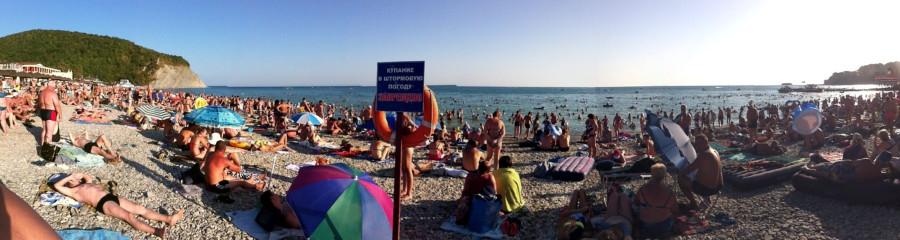 Пляж Архипо-Осиповки